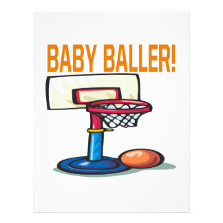Baby Baller Flyer Design