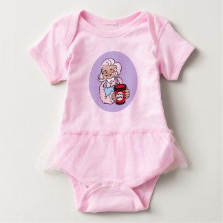 Baby Ballerina Body, pink Baby Bodysuit