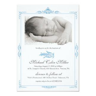 Baby Baptism Invitation