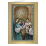 Baby Baptismal Card