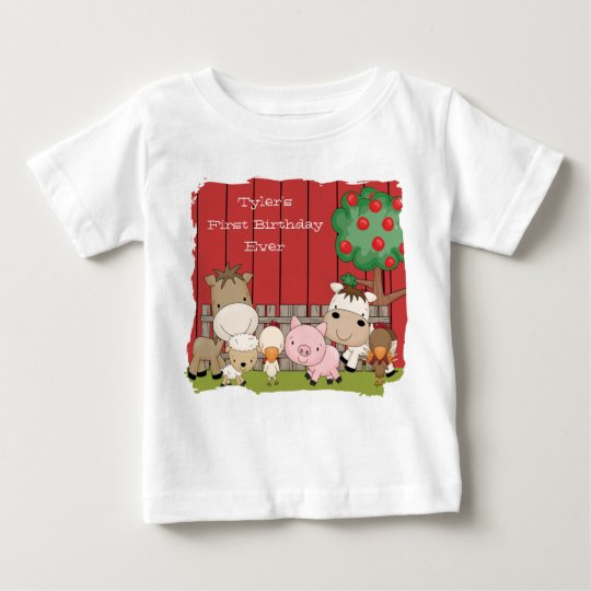 Baby Barnyard Buddies Infant Creeper