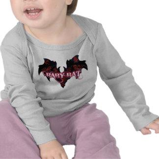 Baby Bat, White Rabbit Infant Long Sleeve T Shirts