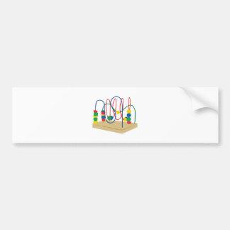 Baby Bead Toy Bumper Sticker