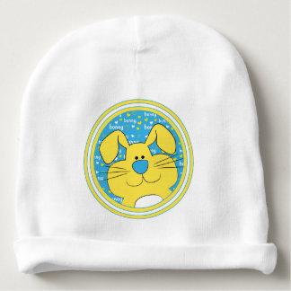 Baby Beanie Gift/Honey Bunny/Blue/Yellow