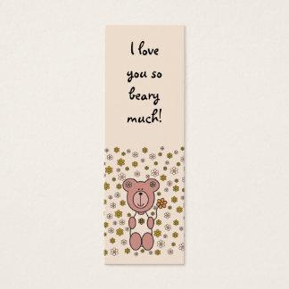Baby Bear 01 (Bookmark) Mini Business Card