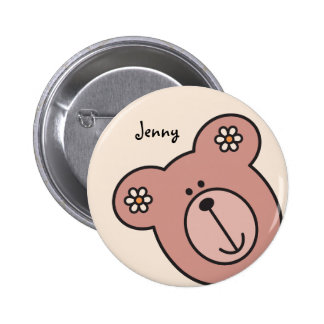 Baby Bear 04 6 Cm Round Badge
