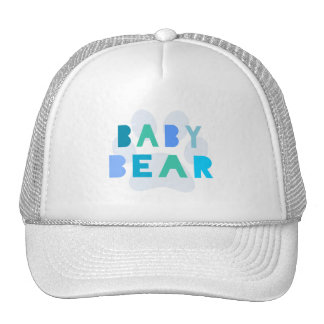 Baby bear - blue trucker hat
