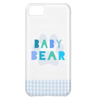 Baby bear - blue iPhone 5C case