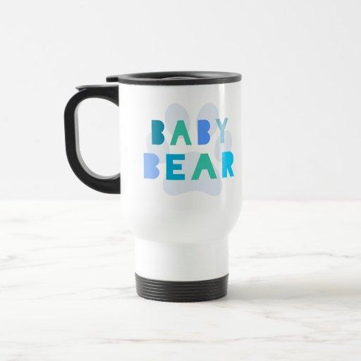 Baby bear - blue coffee mug
