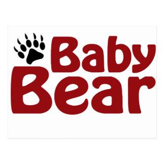 Baby Bear Claw Postcard