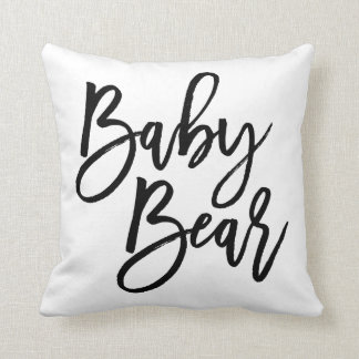 Baby Bear Cushion