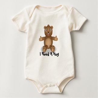 Baby Bear, I Need A Hug Baby Bodysuit