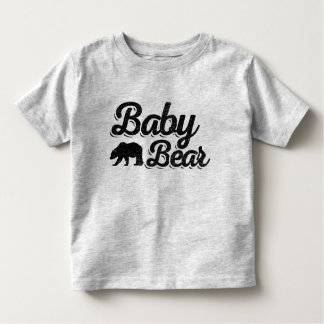 Baby Bear Light Color Toddler T-Shirt