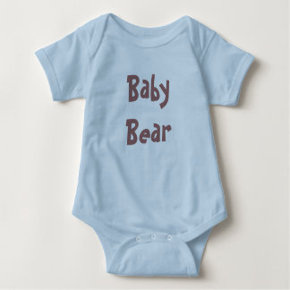 Baby Bear Mother's / Father' Day Gift - blue shirt