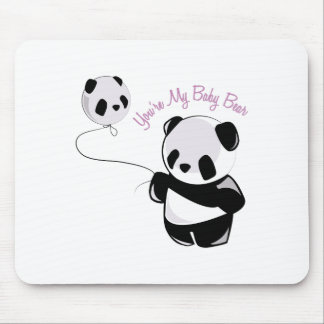 Baby Bear Mouse Pads