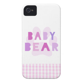 Baby bear - pink iPhone 4 Case-Mate cases