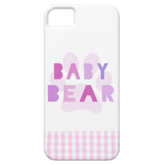 Baby bear - pink iPhone 5 cover