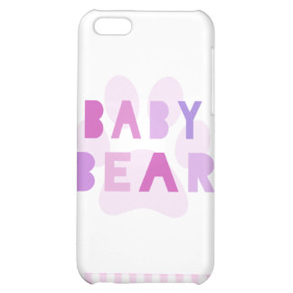 Baby bear - pink iPhone 5C cover