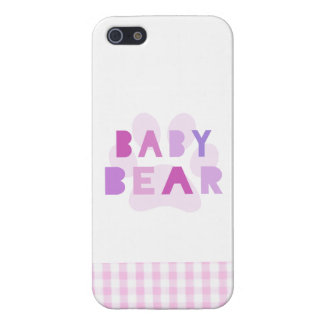 Baby bear - pink cases for iPhone 5