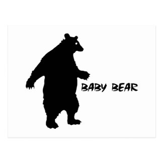 Baby Bear Post Cards