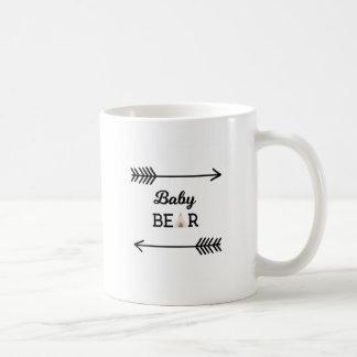 Baby Bear with Arrows Coffee Mug