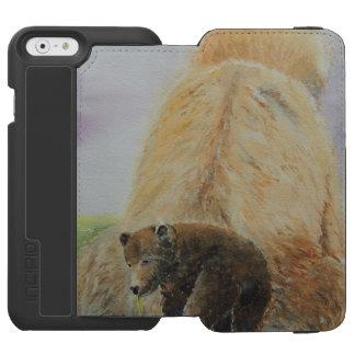 Baby Bear with Mama Bear Incipio Watson™ iPhone 6 Wallet Case