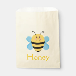 Baby Bee Cartoon Illustration Favour Bags
