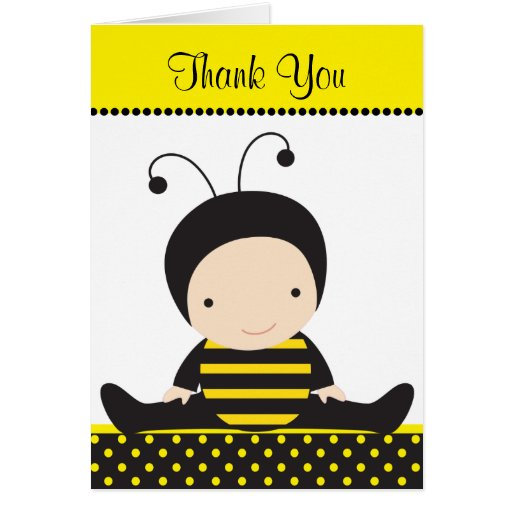 Baby Bee Note Cards
