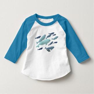 Baby Beluga Whale T-Shirt Cute Toddler Whale Art