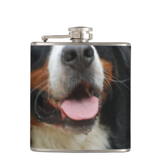 Baby Bernese Mountain Dog Hip Flask