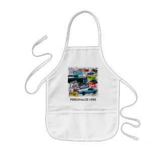 Baby Bib - Route 66 Classic Cars Apron