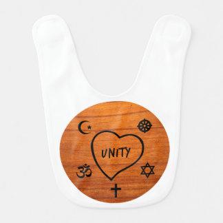 Baby bib - Unity