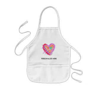 BABY BIBS - Happy Heart Kids Apron