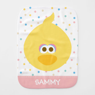 Baby Big Bird | Add Your Name Burp Cloth