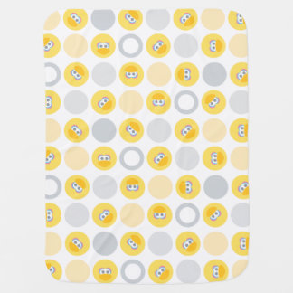 Baby Big Bird Circle Pattern Baby Blanket