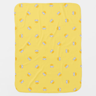 Baby Big Bird Face Shape Pattern Baby Blanket