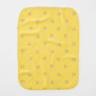 Baby Big Bird Face Shape Pattern Burp Cloth