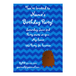 Baby bigfoot birthday invitation