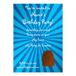 Baby bigfoot birthday invitation