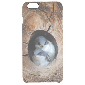 Baby Birds Clear iPhone 6 Plus Case