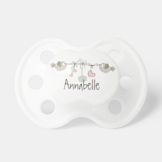 Baby Birds | Personalized Pacifier