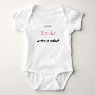 Baby Birthday Cake Baby Bodysuit