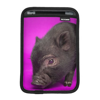 Baby Black Pig iPad Mini Sleeve