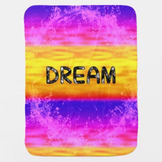 Baby Blanket-DREAM-multicolor Pramblankets