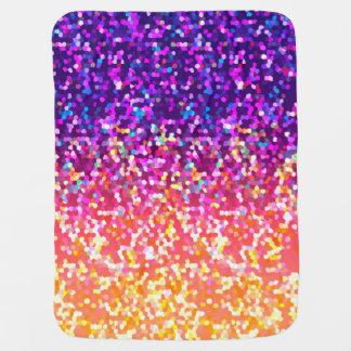 Baby Blanket Glitter Graphic