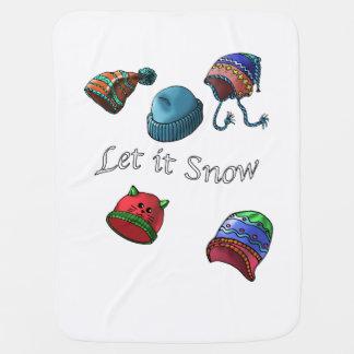 Baby blanket, Let it Snow Receiving Blankets