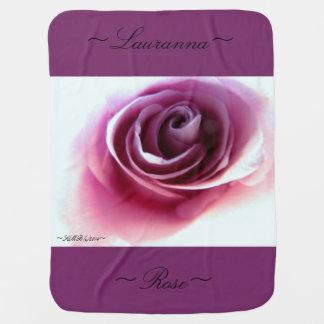 Baby Blanket (Magenta Rose Dream)
