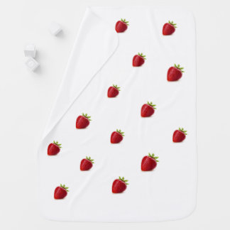 baby blanket  strawberry