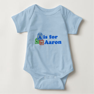 Baby Blocks Aaron Baby Bodysuit