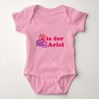 Baby Blocks Ariel Baby Bodysuit